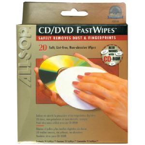 "20"" CD FASTWIPES(TM), 20 PK"