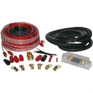 COPPER-CLAD ALUMINUM AMP WIRING KIT (1/0