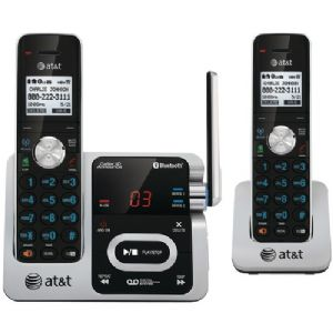 DECT 6.0 TWO-HANDSET PHONE WITH CALLER I