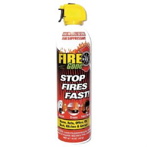 FIRE GONE(TM) FIRE SUPPRESSANT