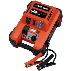 500-AMP JUMP STARTER WITH COMPRESSOR