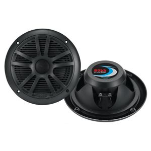 "MARINE 6.5"" DUAL CONE SPEAKERS (BLACK)"