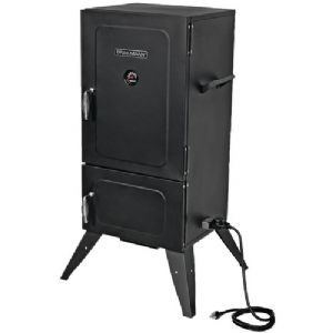 SQUARE 2-DOOR VERTICAL ELECTRIC SMOKER