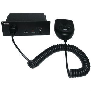 MARINE/MOBILE MICROPHONE PA/MIXER (BLACK