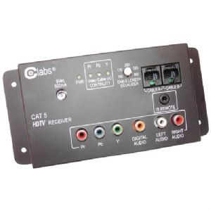 CAT-5 HD A/V BALUN SYSTEM (RECEIVER UNIT