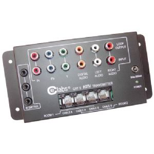 CAT-5 HD A/V BALUN SYSTEM (TRANSMITTER U