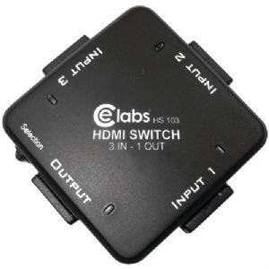 3-IN, 1-OUT AUTO HDMI(R) SWITCHER