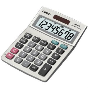 SOLAR DESKTOP CALCULATOR WITH 8-DIGIT DI