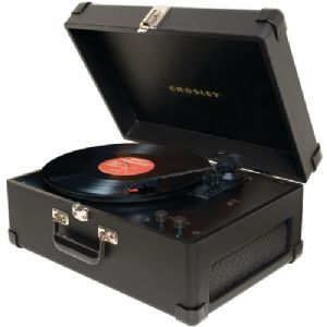 DELUXE KEEPSAKE USB TURNTABLE (BLACK)