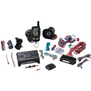 LCD 2-WAY SECURITY SYSTEM WITH REMOTE ST