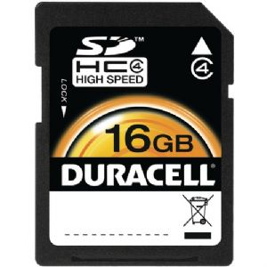 Duracell 16GB SDHC Flash Memory Card