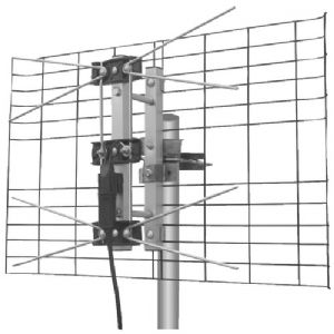 DIRECTV(R)-APPROVED 2-BAY UHF OUTDOOR AN
