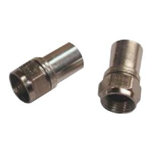 RADIAL COMPRESSION RG6 CONNECTORS WITH O