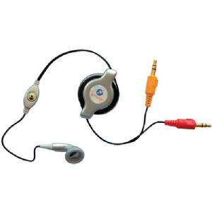 RETRACTABLE VOIP IN-EAR HEADSET