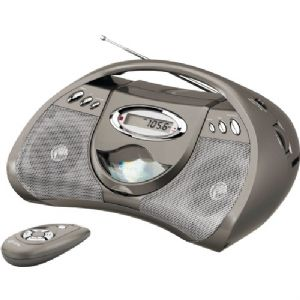 PORTABLE CD PLAYER WITH AM/FM RADIO