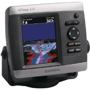 GPSMAP(TM) 431 MARINE GPS RECEIVER