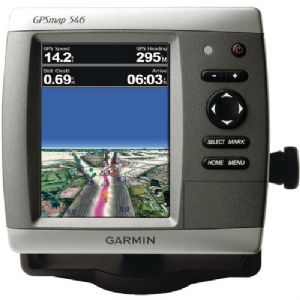 GPSMAP(TM) 546 MARINE GPS RECEIVER