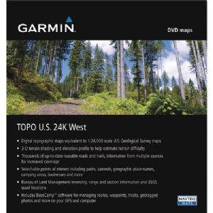 MAPSOURCE TOPO US 24K WEST DVD