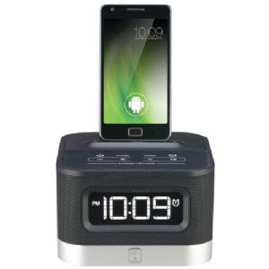 UNIVERSAL CHARGING FM STEREO ALARM CLOCK