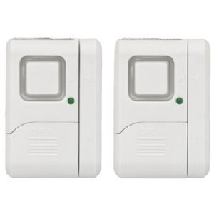 WIRELESS WINDOW ALARMS, 2 PK