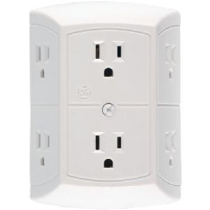 6-OUTLET IN-WALL ADAPTER