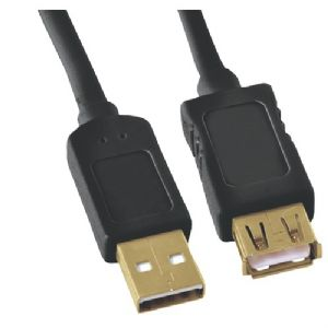 A-MALE TO A-FEMALE USB 2.0 CABLE (10FT)