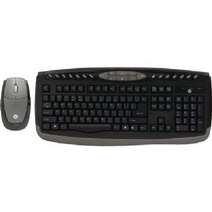 WIRELESS OFFICE KEYBOARD and OPTICAL MOU