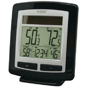 SOLAR TEMPERATURE and HUMIDITY STATION