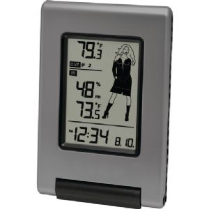 WIRELESS WEATHER STATION WITH ADVANCED I