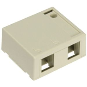 QUICKPORT(TM) 2-PORT SURFACE MOUNT HOUSI