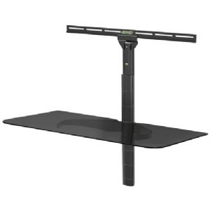 ADJUSTABLE GLASS COMPONENT SHELF