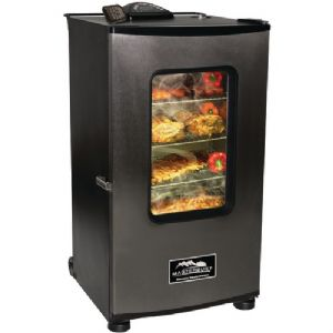"30"" ELECTRIC SMOKER WITH WINDOW"