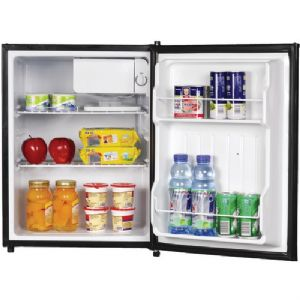 2.4 CUBIC-FT REFRIGERATOR (BLACK)