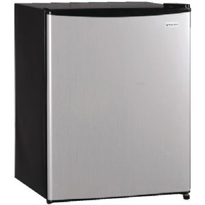 2.4 CUBIC-FT STAINLESS REFRIGERATOR (STA