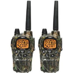 30-MILE CAMO GMRS RADIO PAIR PACK WITH B