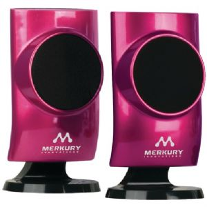 UNIVERSAL STEREO SPEAKERS (PINK)