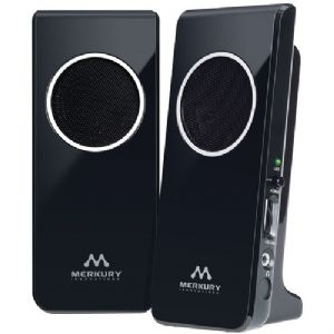 AMPLIFIED STEREO SPEAKER (BLACK)