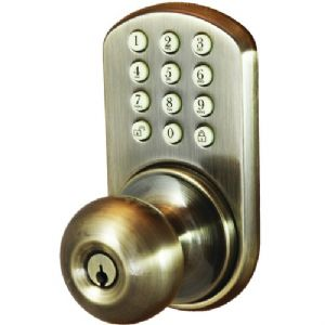 TOUCHPAD ELECTRONIC DOOR KNOB (ANTIQUE B