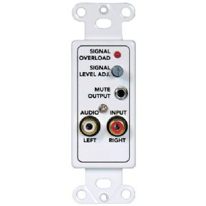 AUDIO INPUT WALL PLATE FOR MSSDMC10H