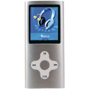 "4 GB PORTABLE MEDIA PLAYER WITH 1.8"" DIS"
