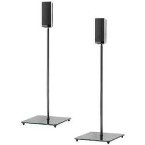 EL0 AUDIOPHILE SPEAKER STANDS (BLACK)- P