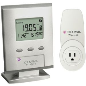 KILL A WATT(R) WIRELESS MONITOR WITH CAR