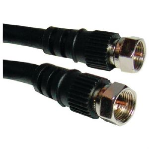 F-TO-F RG6 SCREW-ON CABLE (6 FT)