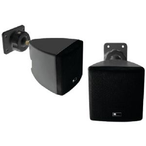 MINI CUBE SPEAKER WITH WALL BRACKET (BLA
