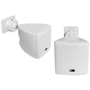 MINI CUBE SPEAKER WITH WALL BRACKET (WHI