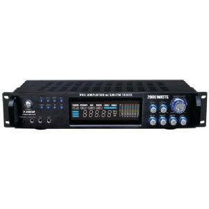 HYBRID AMPLIFIER and AM/FM TUNER (2000 W