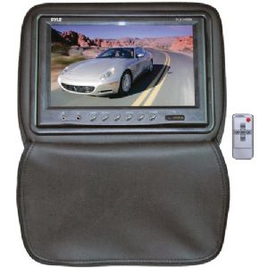 "9"" HEADREST MONITOR WITH ZIPPER HIDE-AWA"