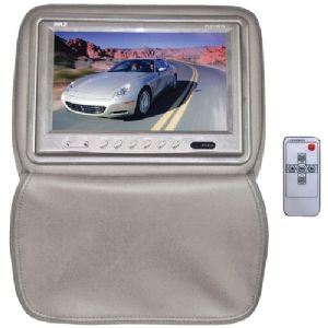 9&quot; HEADREST MONITOR WITH ZIPPER HIDE-AWA