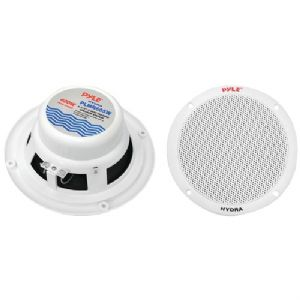 6.5   DUAL CONE MARINE SPEAKERS (WHITE)