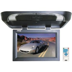 17&quot; FLIP-DOWN MONITOR WITH BUILT-IN DVD/